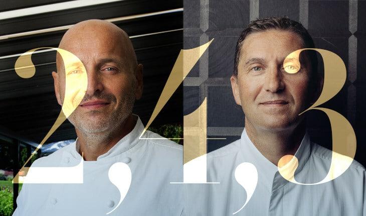 Iconic Geneva chefs Philippe Chevrier and Dominique Gauthier
