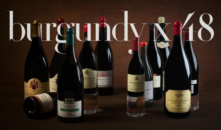 """Burgundy x 48""live auction November 14th online"