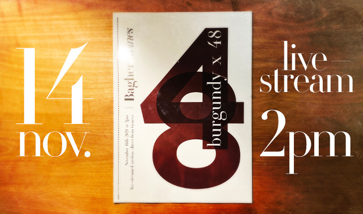 """Burgundy x 48"" blog article"
