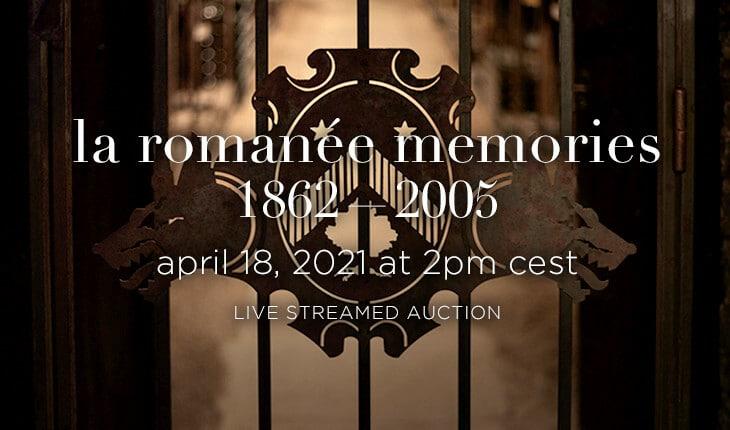 La Romanée Memories by Baghera/wines