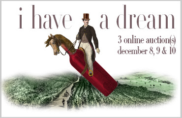 """I have a dream"" online wine o'clock sale 